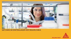 SAP EWM IM ZENTRALLAGER DER REGION EMEA