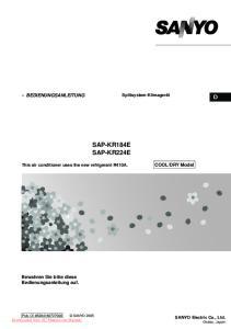 SAP-KR184E SAP-KR224E