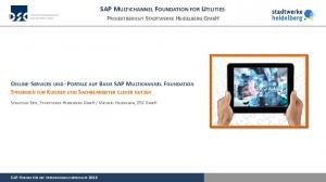 SAP MULTICHANNEL FOUNDATION FOR UTILITIES