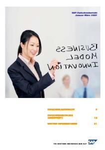 SAP-Zwischenbericht Januar-März 2007