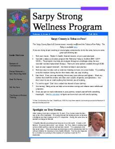 Sarpy Strong Wellness Program