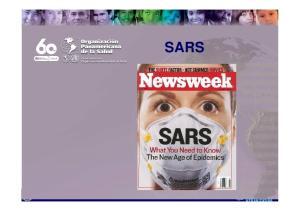 SARS. text. Pan American Health Organization