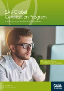 SAS Global Certification Program