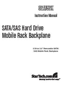 SAS Hard Drive Mobile Rack Backplane