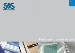 SAS Partitioning. Partitioning Systems and doors