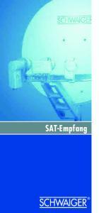 SAT-EMPF ANG SAT-Empfang