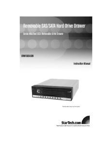 SATA Hard Drive Drawer