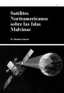 Satélites Norteamericanos sobre las Islas Malvinas. Dr. Mariano Sciaroni
