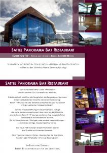 SATTEL PANORAMA BAR RESTAURANT