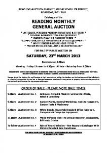 SATURDAY, 23 rd MARCH 2013