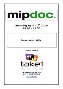 Saturday April 10 th