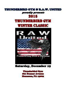 Saturday, December 19