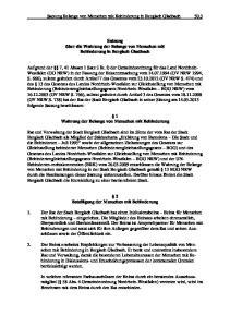 Satzung Belange von Menschen mit Behinderung in Bergisch Gladbach 50.3