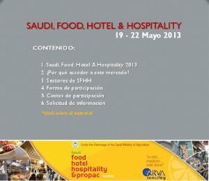 SAUDI, FOOD, HOTEL & HOSPITALITY