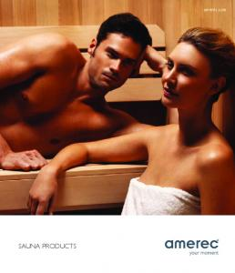 SAUNA PRODUCTS. amerec.com