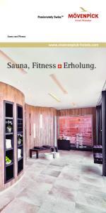 Sauna und Fitness. Sauna, Fitness Erholung