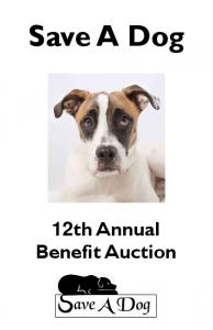 Save A Dog 12th Annual Benefit Auction