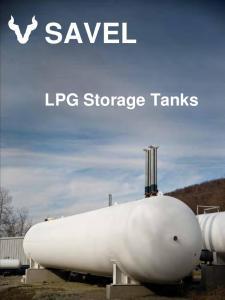 SAVEL. LPG Storage Tanks