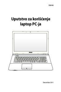 SB6944. Uputstvo za korišćenje laptop PC-ja