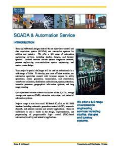 SCADA & Automation Service