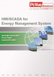 SCADA for Energy Management System