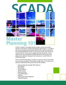 SCADA Master Planning 101