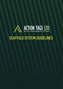 SCAFFOLD SYSTEM GUIDELINES