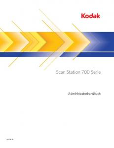 Scan Station 700 Serie