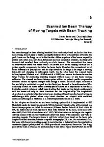 Scanned Ion Beam Therapy of Moving Targets with Beam Tracking