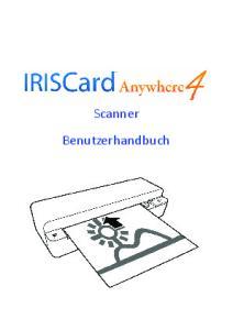 Scanner Benutzerhandbuch
