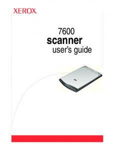 scanner user s guide
