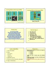 Scanning Electron Microscope (SEM) Scanning Electron Microscope (SEM) Internet Sites. With the help of