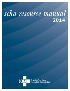 scha resource manual 2014