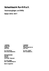 Schachbezirk Rur-Erft e.v