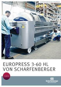 Scharfenberger EuroPress. Europress 3-60 HL hl