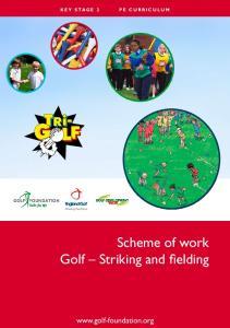 Scheme of work Golf Striking and fielding