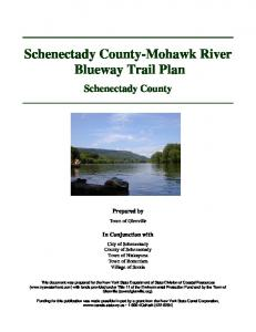 Schenectady County-Mohawk River Blueway Trail Plan