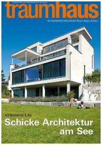 Schicke Architektur am See