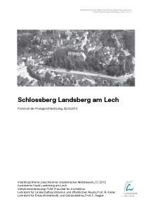Schlossberg Landsberg am Lech