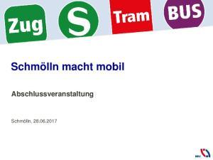 Schmölln macht mobil Abschlussveranstaltung