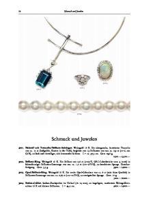Schmuck und Juwelen. Schmuck und Juwelen