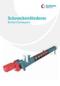 Schneckenförderer Screw Conveyors