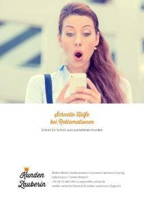 Schnelle Hilfe bei Reklamationen