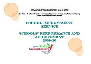 School Improvement Service