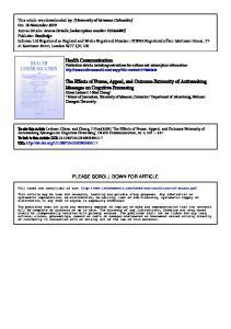 School of Journalism, University of Missouri, Columbia b Department of Advertising, National Chengchi University,