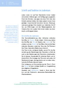 Schrift und Tradition im Judentum