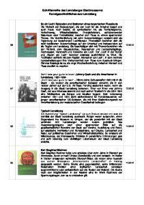 Schriftenreihe des Landsberger Stadtmuseums: Kunstgeschichtliches aus Landsberg