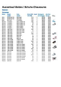 Schuhe-Chaussures