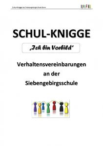 Schul-Knigge der Siebengebirgsschule Bonn