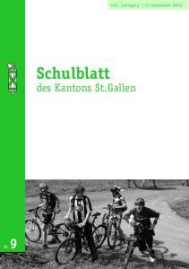 Schulblatt des Kantons St.Gallen